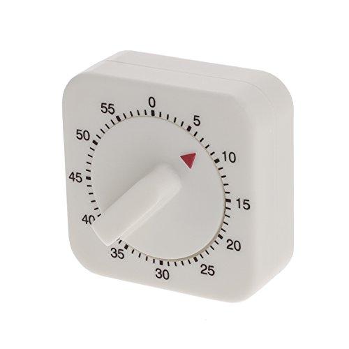 Smartfox Küchentimer Zeitmesser Kurzzeitmesser mechanisch in weiß