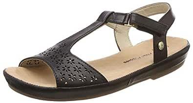 Hush Puppies Women's Canna Sandal Leather Fashion