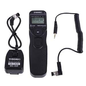 VKtech Déclencheur Flash Contrôleur Yongnuo MC- 36R N1 Télécommande sans fil Déclencheur pour - 36R N1 Télécommande sans fil Déclencheur à distance Adapté pour: Nikon D1 series/D2 series/D3 series/D4 series/D200/D300/D700/D800