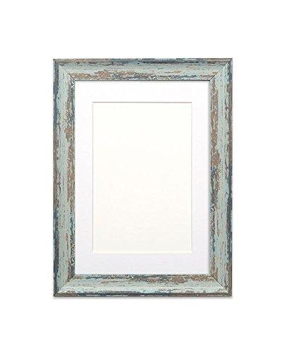 mounted-vintage-envejecido-madera-efecto-camuflaje-marco-de-fotos-marco-de-fotos-marco-para-posters-