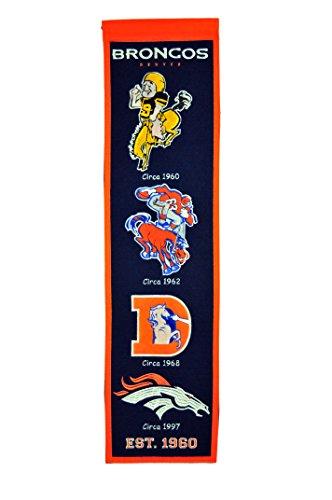 Winning Streak NFL Denver Broncos Heritage Banner