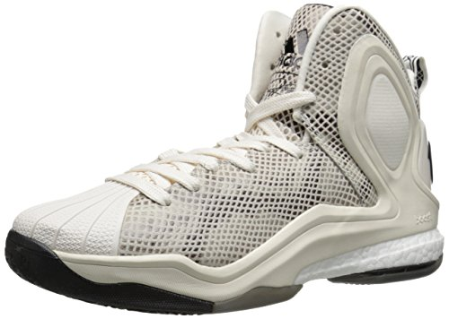 adidas Performance D Rose 5 Boost-Basketball-Schuh, KreideweiÃ?, 13 M Us