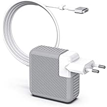 SIXNWELL Cargador MacBook Pro, Cargador MacBook Air, 60W MagSafe 2 Forma de T Adaptador