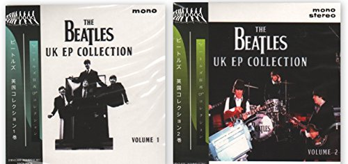 BEATLES UK EP COLLECTION VOL.1, 2 2CD MINI LP OBI