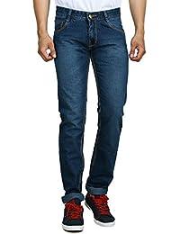 Par Excellence Men's Slim Fit Jeans (Blue)