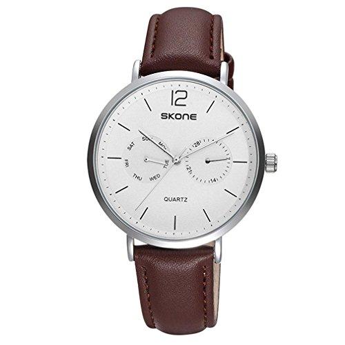LLW Montres de ceinture Multi-fonction petit calendrier cadran montre montre-bracelet en alliage étanche , 003