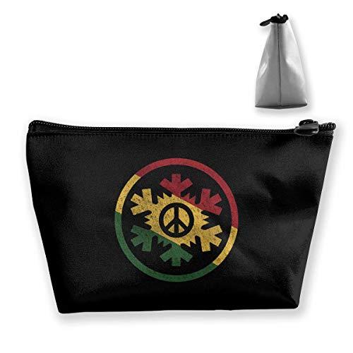 ,Music Multifunction Travel Makeup Bags Shaving Kit Buggy Bag Organizers With Zipper ()