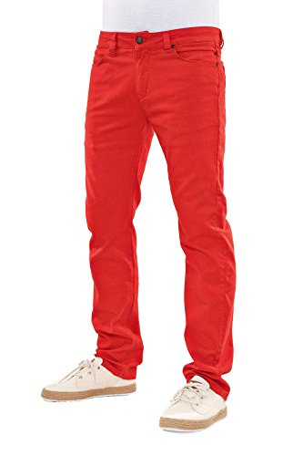 Reell Skin Stretch Jeans Coral Red