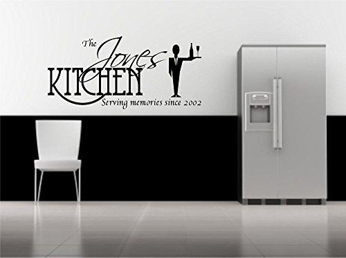 Personalisierte Wandaufkleber Küche Spruch Dekorativ Aufkleber Wandgemälde Vinyl Aufkleber