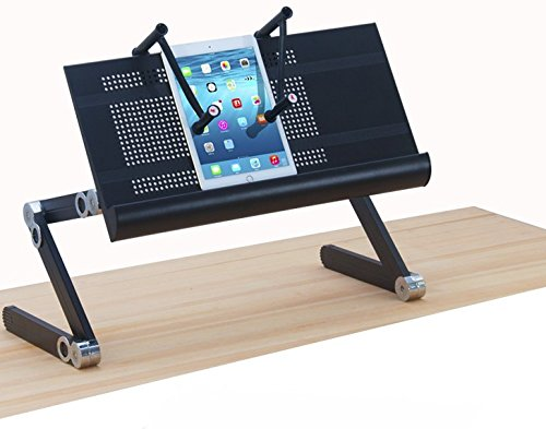 Ergoneer Height Adjustable Laptop Stand With Notebook Clamps