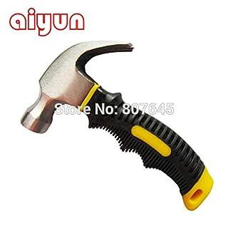 Tragbare Mini Claw Hammer/Auto Safety Glas Hammer Gummi Griff Fitter 's Hammer