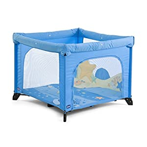 Chicco Open Box - Parque de atracciones para bebé, color azul