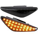 phil trade LED SEITENBLINKER schwarz kompatibel für BMW X3 F25 | X5 E70 | X6 E71, E72 [7137-1-B]