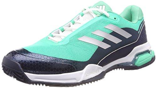 Adidas Barricade Club, Zapatillas de Soft Tenis para Hombre, Verde (Vealre/Plamat/Maruni 000), 40