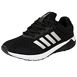 Columbus KM-06-41 Black Grey Sports Running Shoes
