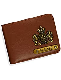 Little Cubess Personalized Handmade Leather Gift for Men -Multi-Color (Men's Wallet)