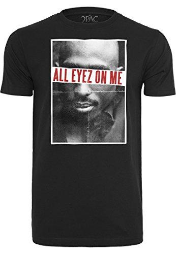 2Pac All Eyez On Me Tee black S Black