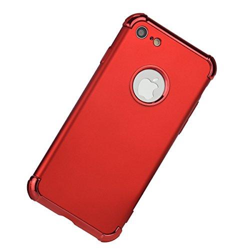 iPhone 7case-Joseche 3in 1design Heavy Duty Shockproof drop-proof antigraffio doppio strato morbido TPU cover con Air Hybrid bumper custodia per Apple iPhone 7