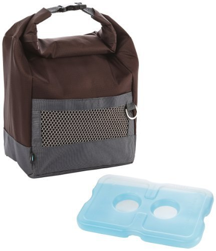 fit-fresh-mens-sporty-large-insulated-lunch-bag-with-ice-pack-buckle-closure-eggplant-by-fit-fresh