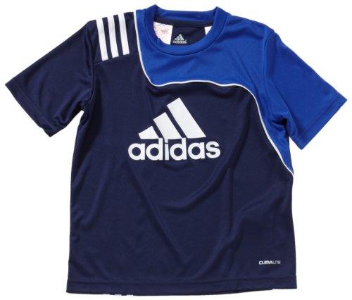 adidas Kinder kurzärmliges Trikot Sereno 11 Training Logo, New Navy/Cobalt, 152, V38017