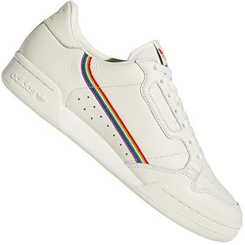 adidas Originals Sneaker Continental 80 Pride EF2318 Weiß Beige, Schuhgröße:36