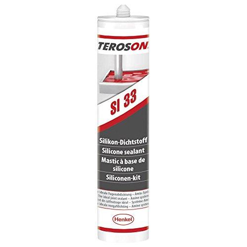 Preisvergleich Produktbild Teroson 79230 Silikon Dichtmasse,  310 ml,  grau