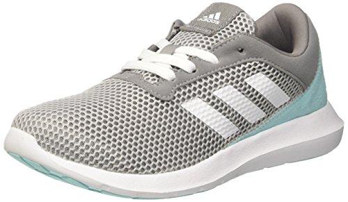 Adidas Damen Element Refresh 3W Laufschuhe, Mehrfarbig (Grey Three F17/Ftwr White/Grey Two F17), 38 EU