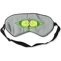 Schlafmaske mit zwei Erbsen in einem Pod, verstellbar, Augenmaske preisvergleich bei billige-tabletten.eu