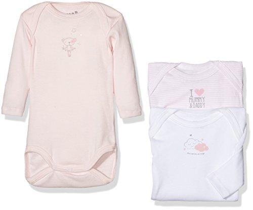 Grain de Blé 1960105, Body para Bebés, Rosa (Rose Pale), 3 Meses (Talla del...