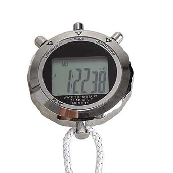 Vktech Chronomètre numérique en métal