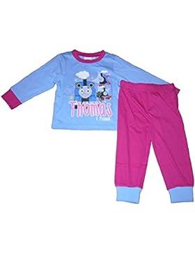 Thomas & Friends Mädchen Schlafanzug Pale blue & pink 6 Jahre