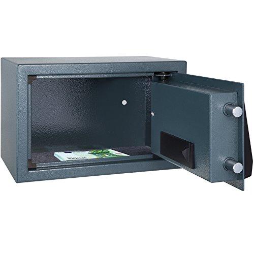 TecTake® Massiver Elektronischer Safe Tresor 20 X 31 X 22cm 4,6 kg schwarz - 3