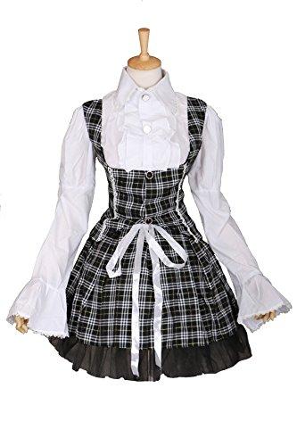 M-3311 L/XL Gothic Punk Lolita Bluse Rock Kostüm dress costume (Rock Kostüme Punk Prinzessin)