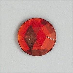 Knorr Prandell Gütermann 6127150 - Piedras para Coser (9 mm, 8 Unidades), Color Rojo