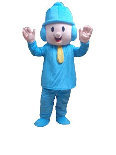 Boy Baby Halloween Maskottchen Kostüm für Erwachsene Fancy Dress Outfit (Kid Maskottchen Kostüme)