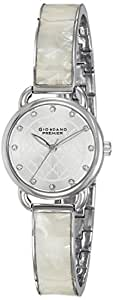 Giordano Analog Silver Dial Women's Watch - P2050-11