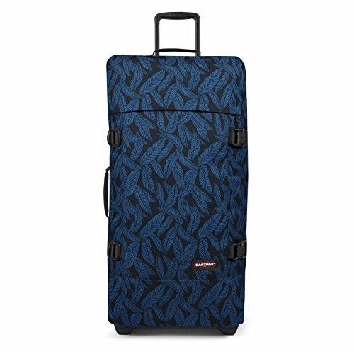 Eastpak Tranverz L Valise, 79 cm, 121 L, Bleu (Leaves Blue)
