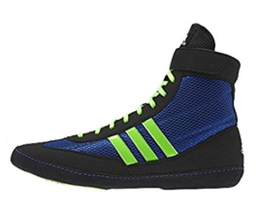 Adidas Lutter contre les bottes de vitesse 4 - Royal Green Noir - Nero/Blu