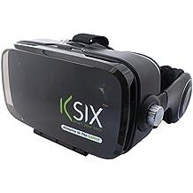 Ksix VR Sound - Gafas de Realidad Virtual con Auriculares para Smartphone de hasta 5.7 Pulgadas
