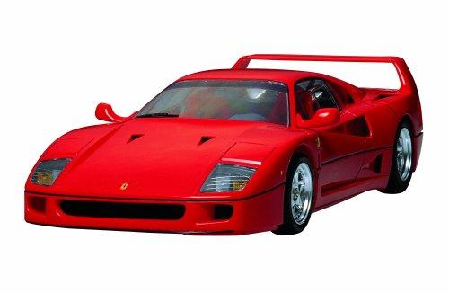TAMIYA Ferrari F-40 Sports Car (Molded in Red) 1/24 (Japan Import)