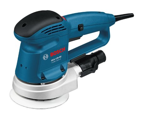 Bosch Professional - GEX 125 AC - Ponceuse Excentrique Filaire - 340 W