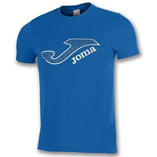 Joma Marsella Camisetas Equip. M/c, Hombre, Royal