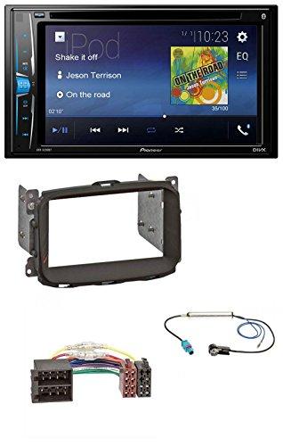 Auto Dvd-player 2014 Für Pioneer (Pioneer AVH-A200BT USB DVD 2DIN Bluetooth CD MP3 Autoradio für Alfa Giulietta (2010-2014))
