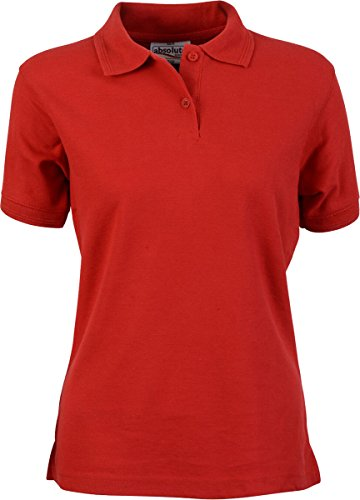 Absolute Apparel -  Polo  - Donna Rosso