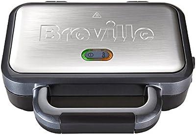 Breville VST041X - Sandwichera con platos desmontables