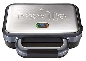 Breville VST041 Deep Fill Sandwich Toaster, Stainless Steel - Silver