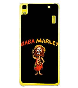Baba Marley 2D Hard Polycarbonate Designer Back Case Cover for Lenovo K3 Note :: Lenovo A7000 Turbo
