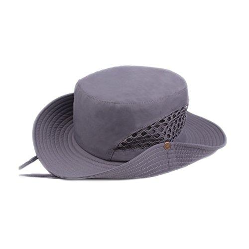B-HOT Chapeau de Soleil Pêche Eté Bonnet Boonie Sports Camping Randonnée Cynisme