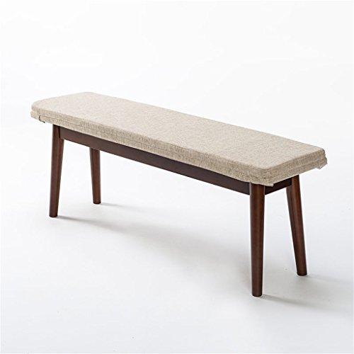 3b86fd8d29b YAnFAn   Chaises Concise moderne Long banc en bois utilisé pour manger le  pied de lit