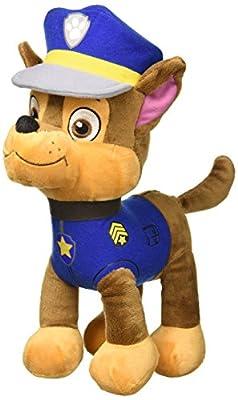 Patrulla Canina (paw Patrol) - Peluche Personaje Chase, Pastor Aleman Policia (30cm De Pie) Calidad Super Soft - Color Azul - por Paw Patrol